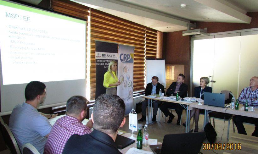 Energetska efikasnost, put ka održivom razvoju i smanjenju energetskog siromaštva u Republici Srpskoj