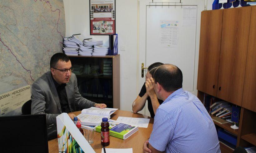 Danas nas je posjetio ministar razvoja i poduzetništva Tuzlanskog kantona Nermin Hodžić
