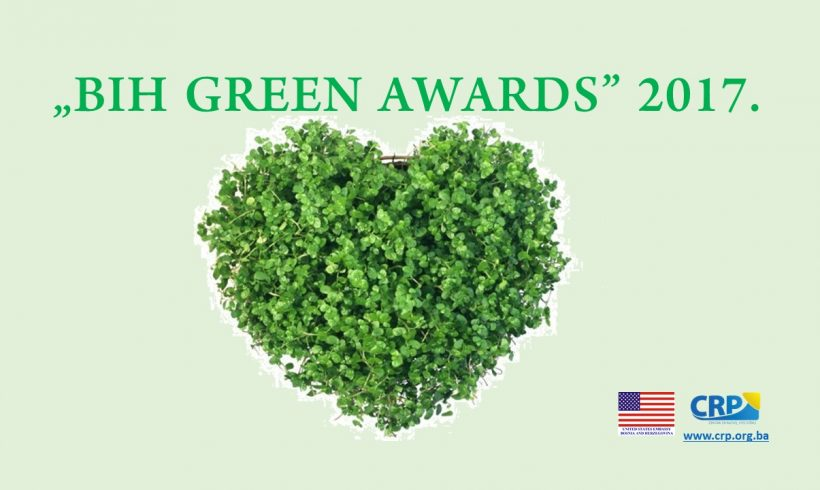 "Here is the first breakdown of poll results within the campaign  ""BiH GREEN AWARDS"" 2017"