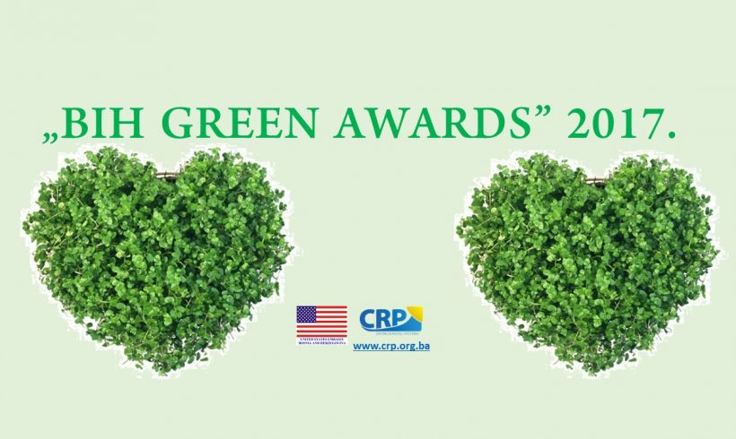"New breakdown of poll results within the campaign  ""BIH GREEN AWARDS"" 2017"