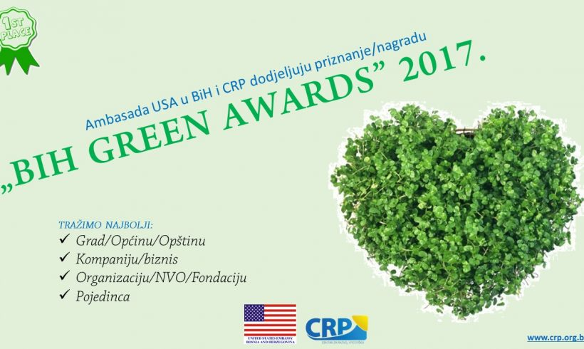 """BIH GREEN AWARDS"" 2017."
