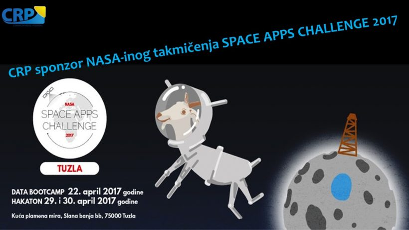 CRP sponsor of NASA SPACE APPS CHALLENGE