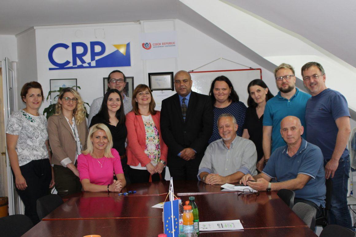 We were visited by the Ambassador of the Czech Republic in BiH, Mr Jakub Skalnik
