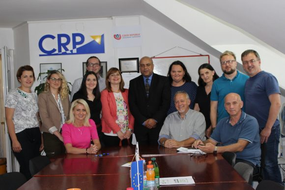 We were visited by the Ambassador of the Czech Republic