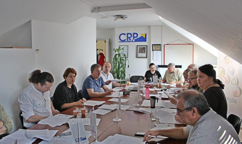 """CRP osoblje na treningu """"Primjena procedura nabavki po pravilima Evropske unije – EU PRAG"""""""