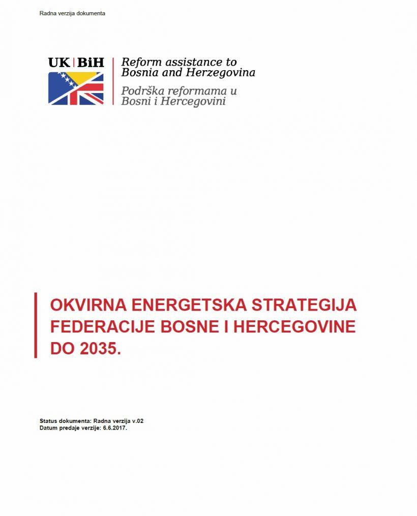 Okvirna energetska strategija BiH do 2035. godine