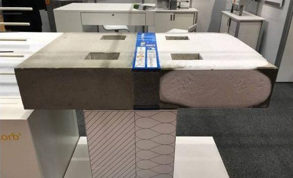 Termički prekid za betonske ploče koji umanjuje račune