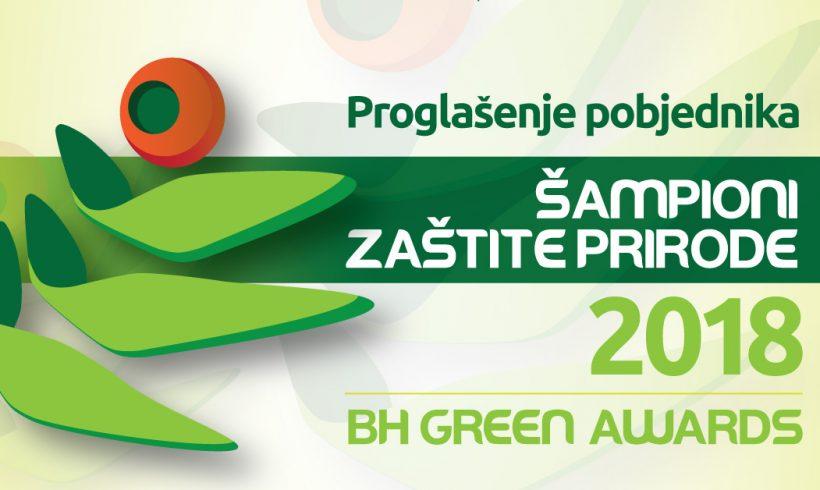 """Proglašenje pobjednika """"Šampioni zaštite prirode"""" 2018."""