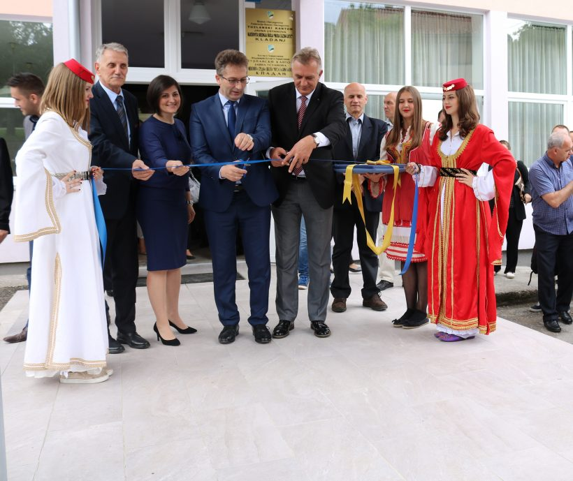 "The first energy efficient ""SMART school"" in Tuzla canton"