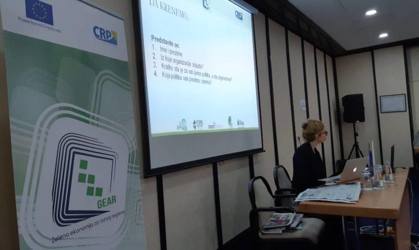 Saopštenje za javnost-  Obuka za OCD iz regiona