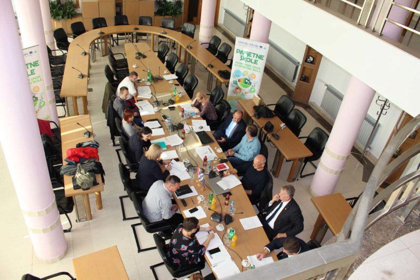 Pametne škole- održan 4. sastanak projektnog tima