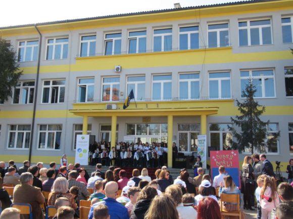 """Ceremonial opening of new """"Smart school"""" in TC"""