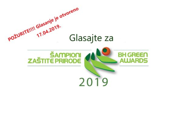 Prvi pregled stanja 09.04.- Šampioni zaštite prirode/ BH green awards 2019