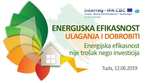 """Najava događaja- Završni forum """"Energijska efikasnost – ulaganja i dobrobiti"""""""