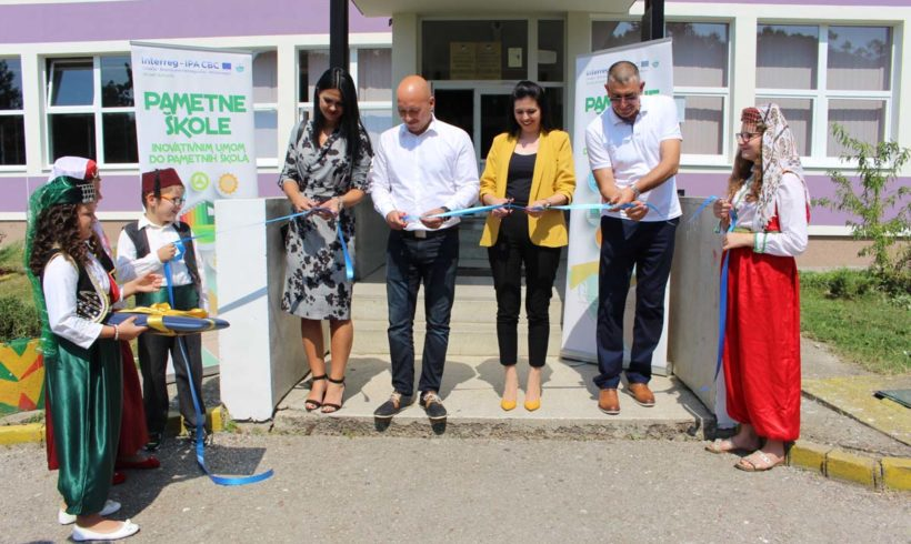U Srebreniku održana ceremonija otvaranja energetski obnovljene Druge osnovne škole