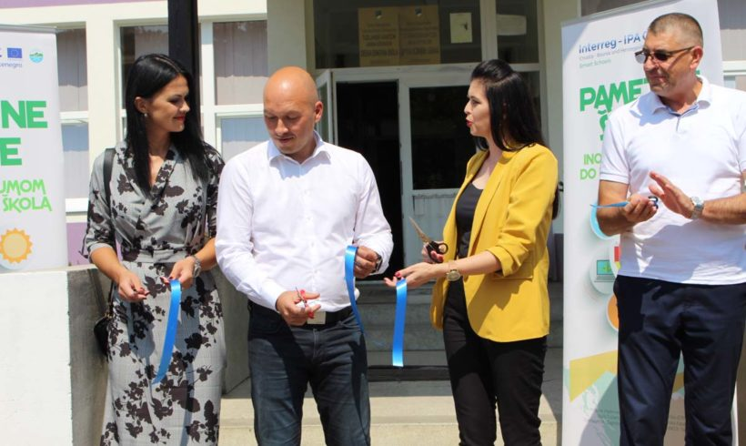The Ceremony of Opening the Energy-Renovated Second Primary School in Srebrenik