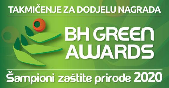 Odgođeno takmičenje Šampioni zaštite prirode/BH green awards 2020