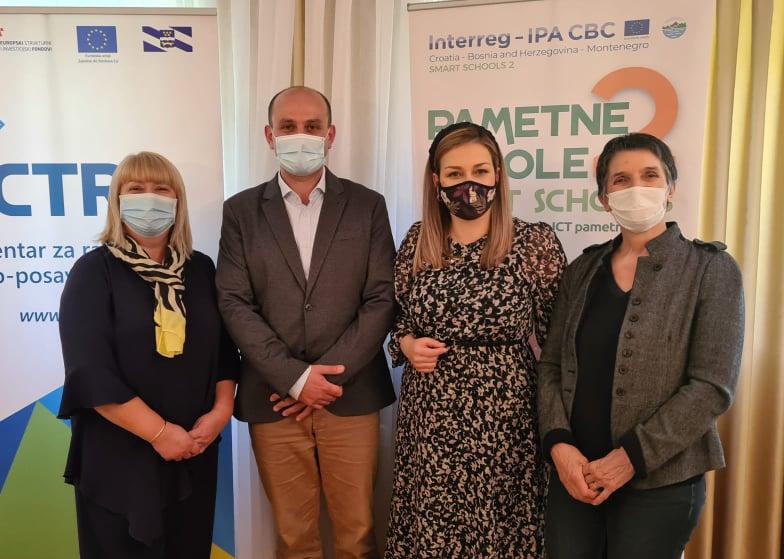 """U Slavonskom Brodu (HR) održan sastanak partnera u okviru projekta """"Pametne škole 2"""""""
