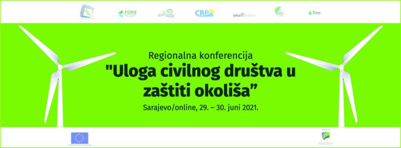 """Konferencija """"Uloga civilnog društva u zaštiti okoliša"""" – video"""