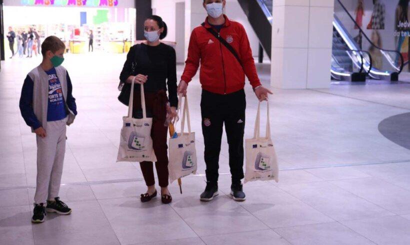 """Kampanja """"Promocija Zelene agende za Zapadni Balkan – smanjimo upotrebu plastičnih vrećica"""""""
